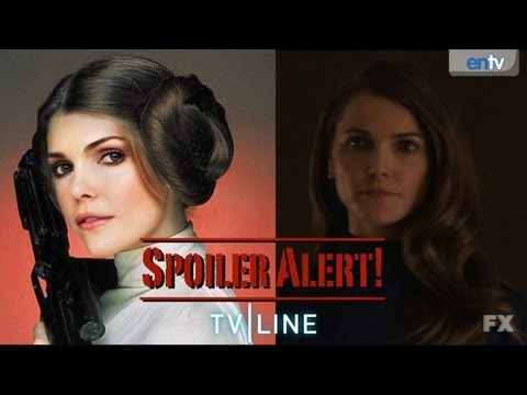 Keri Russell on The Americans, Star Wars VII with JJ Abrams and Felicity - Spoiler Alert!