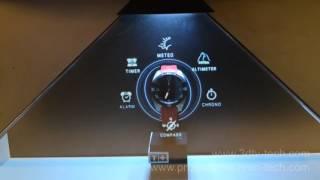 Hologram pyramid 3D @Tissot, Suvarnabhumi Airport