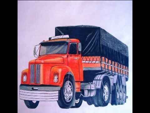Carros e Caminhões desenhos Maycon PG