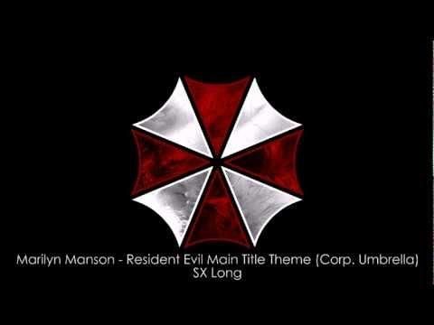 Marilyn Manson - Resident Evil Main Title Theme (corp. Umbrella) (sx Long) video