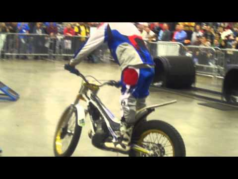 Smage Brothers Trial Bikes - International Motorcycle Show - Dallas