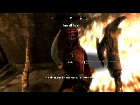 Skyrim - Dark Brotherhood Ending *Spoilers*