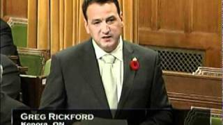 Statement by Greg Rickford - Remembrance Day