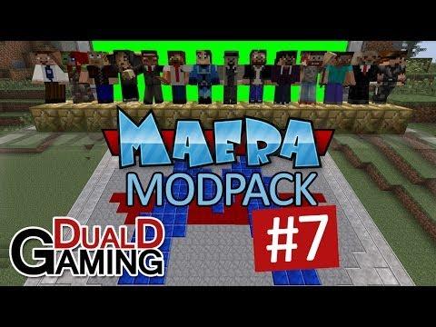 Maera Modpack med DDG - Avsnitt #7 - Flans Mod; Vapen i Minecraft??!