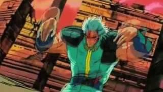 Rei vs Yuda Hokuto no Ken