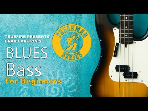 How To Play Blues Bass - #1 Introduction - Bass Guitar Lessons For Beginners video