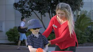 Curtin | Behind-the-scenes | Helping challenged kids into sport