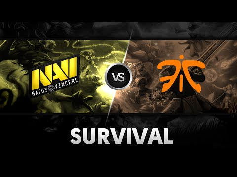 Survival by Na'Vi vs Fnatic @ESL One NY Qualifier EU