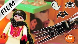 Playmobil Film deutsch ECHTES MONSTER AUF HALLOWEEN PARTY? Hannah & Dave haben Angst | Kinderfilm