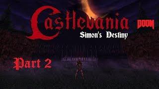 Castlevania Doom (Simon's Destiny) #2 - AVGN Easter Egg!!! - Map 2 The Chapel