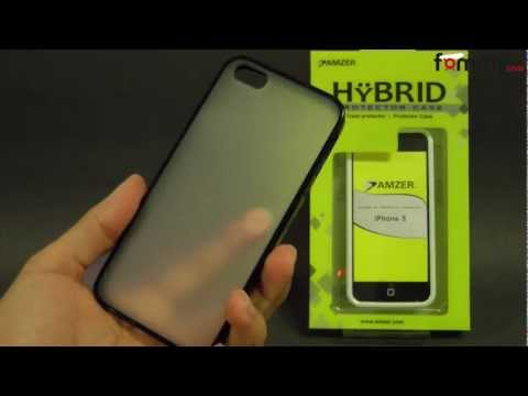 Amzer TPU Polycarbonate Snap On Hybrid iPhone 5 Case Review