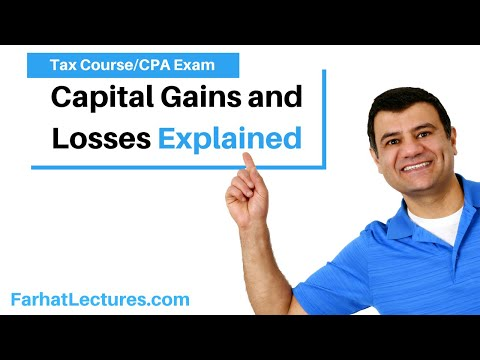 Capital gains and losses - cpa exam regulation