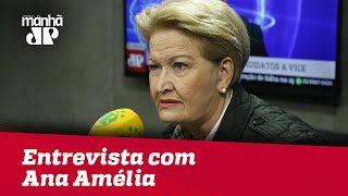 'Arrependimento' não existe no meu dicionário, diz Ana Amélia após aceitar ser vice de Alckmin