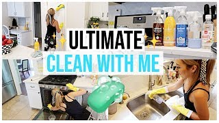 ULTIMATE CLEAN WITH ME 2019 | EXTREME KITCHEN DEEP CLEANING VIDEO | Brianna K