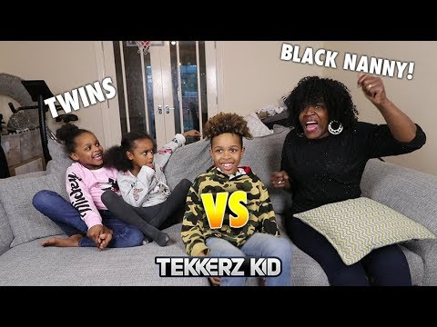 TWINS vs BLACK NANNY Football Challenge!!