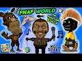 ♫ FNAF WORLD ♫ #3: THE PHANTOM BUNCH! w/ FGTEEV Duddy & Chase (More Talk, Less Gameplay)