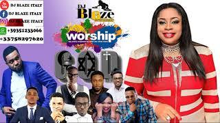 AFRICA MEGA WORSHIP MIX VOLUME 6 2018 BY (DJ BLAZE) mp3(DJ BLAZE)SINACH_FRANK EDWARD.MP3