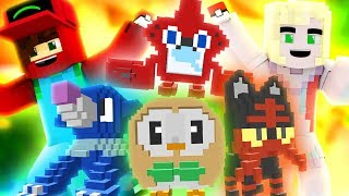 Pokemon Ultra Sun and Moon Episode 1 ? ULTRA ADVENTURE COMMENCE! (Minecraft Pokemon Roleplay)