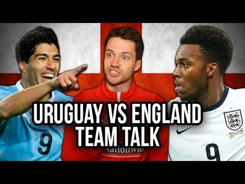 World Cup Team Talk | Uruguay vs England