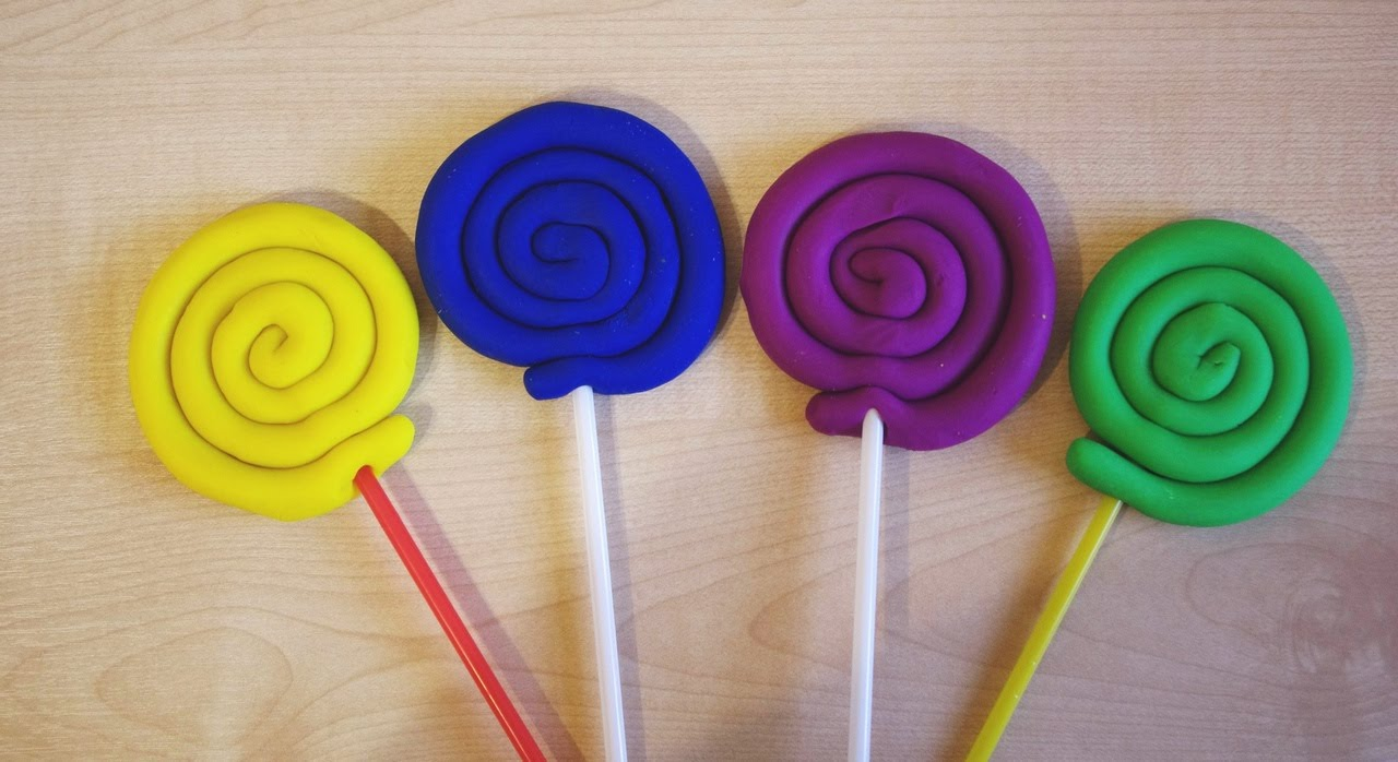Поделки из пластилина для детей от 1 до 2