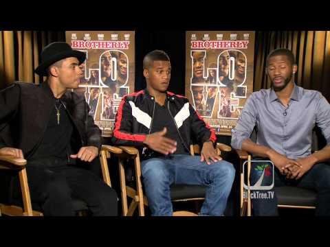 Brotherly Love Interviews w/ Quincy Brown, Cory Hardrict and Eric D. Hill