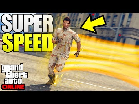 GTA 5 Online - 3 NEW GLITCHES & TRICKS! (Super Speed Glitch, Juggernaut Suit Glitch & Launch Glitch)