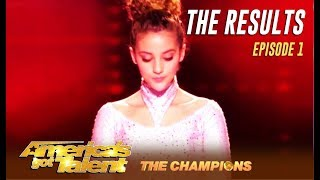 The Results Did Your Favorites Make It Week 1 America 39 S Got Talent Champions