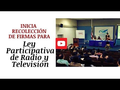 Presentan en Costa Rica propuesta de Ley Participativa de Radio y Televisión