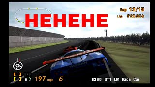 Gran Turismo 3 Playthrough Part 61! Replay of Test course Race! Includes Glitching AI into Walls!