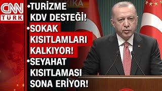 Kabine toplantısı sonrası Cumhurbaşkanı Erdoğan müjdeleri tek tek sıraladı! İşte
