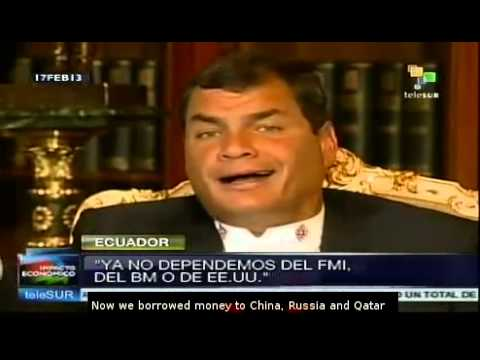 Rafael Correa re-elected as president of Ecuador