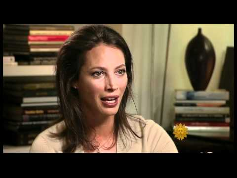 Christy Turlington - CBS News, Sunday Morning, 5 8 11