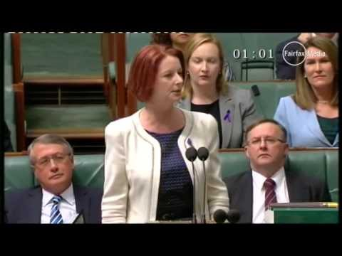 Gillard Attacked Bishop