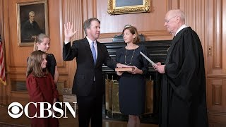 Brett Kavanaugh's swearing-in ceremony as Supreme Court Justice