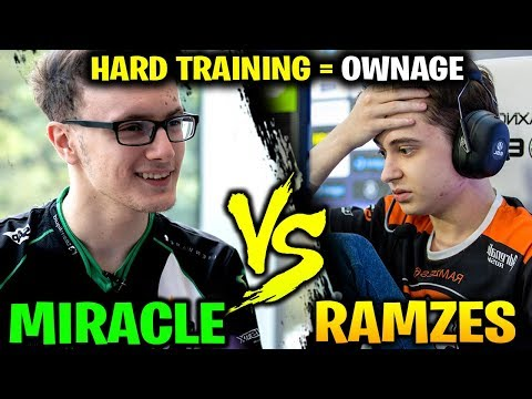 MIRACLE vs RAMZES666 - Worth Of Hard Training Time with Storm Spirit