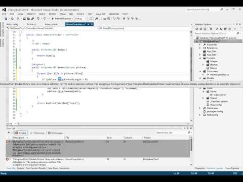 ASP.NET MVC 4 - Single and Multiple File Upload