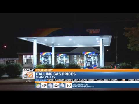 Gas Prices Continue to Fall Across the Miami Valley