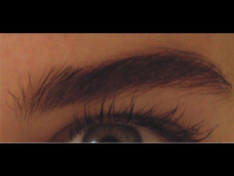Como pintar la cejas(de acuerdo a tu color de cabello)-How to Paint the eyebrows