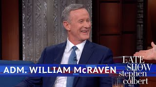 Adm. William McRaven Sat Down With Saddam Hussein
