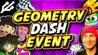 GEOMETRY DASH LIVE EVENT!! (With a lot of BIG GD Players!!)