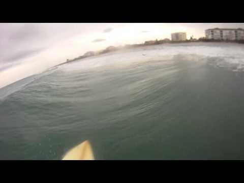 surfing Melbourne Beach Florida 2013