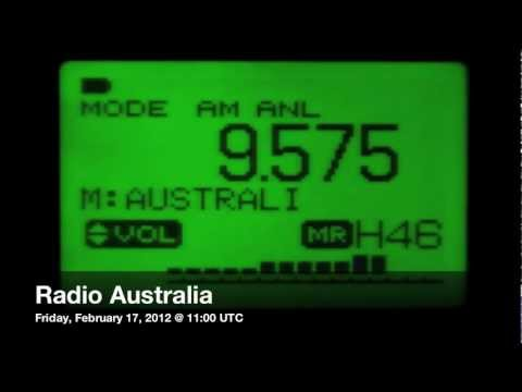 Radio Australia, shortwave DX @ 17411 km