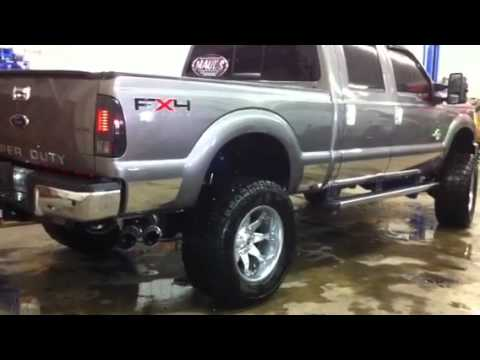 Maul's Shop 6.7L Powerstroke Straight Piped