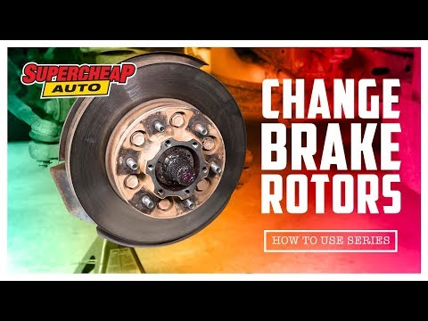 Replacing Brake Rotors
