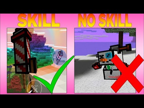 Top 10 Gadgets In Pixel Gun 3D That Really Take Skill To Use !!