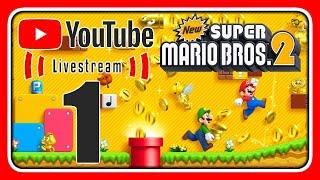 Livestream! New Super Mario Bros. 2 [keine Münzen] (Stream 1)