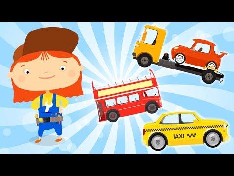 Car Cartoon All Episodes 🚗 Doctor Mac Wheelie Cartoon Collection 🚗  Kids Cartoon Episode #4
