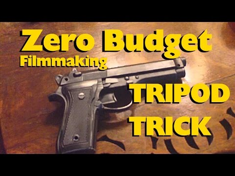ZERO BUDGET FILM MAKING TRIPOD TRICK (tutorial)