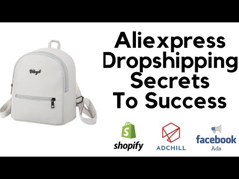 Aliexpress Dropshipping Secrets To Success - Step by Step Tutorial