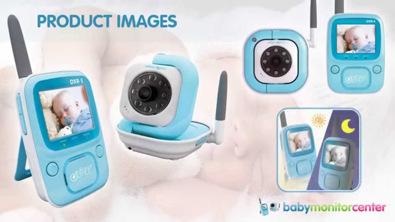 infant optics dxr 5 baby monitor review baby monitor center youtube. Black Bedroom Furniture Sets. Home Design Ideas